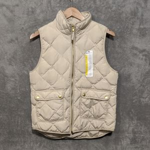 Woolrich cream padded vest